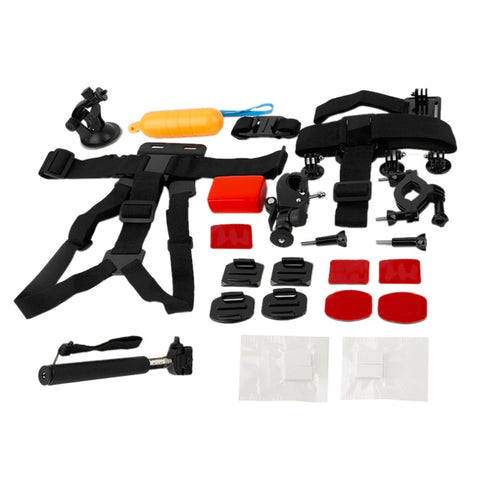 16 Piece Go Pro Accessories Kit