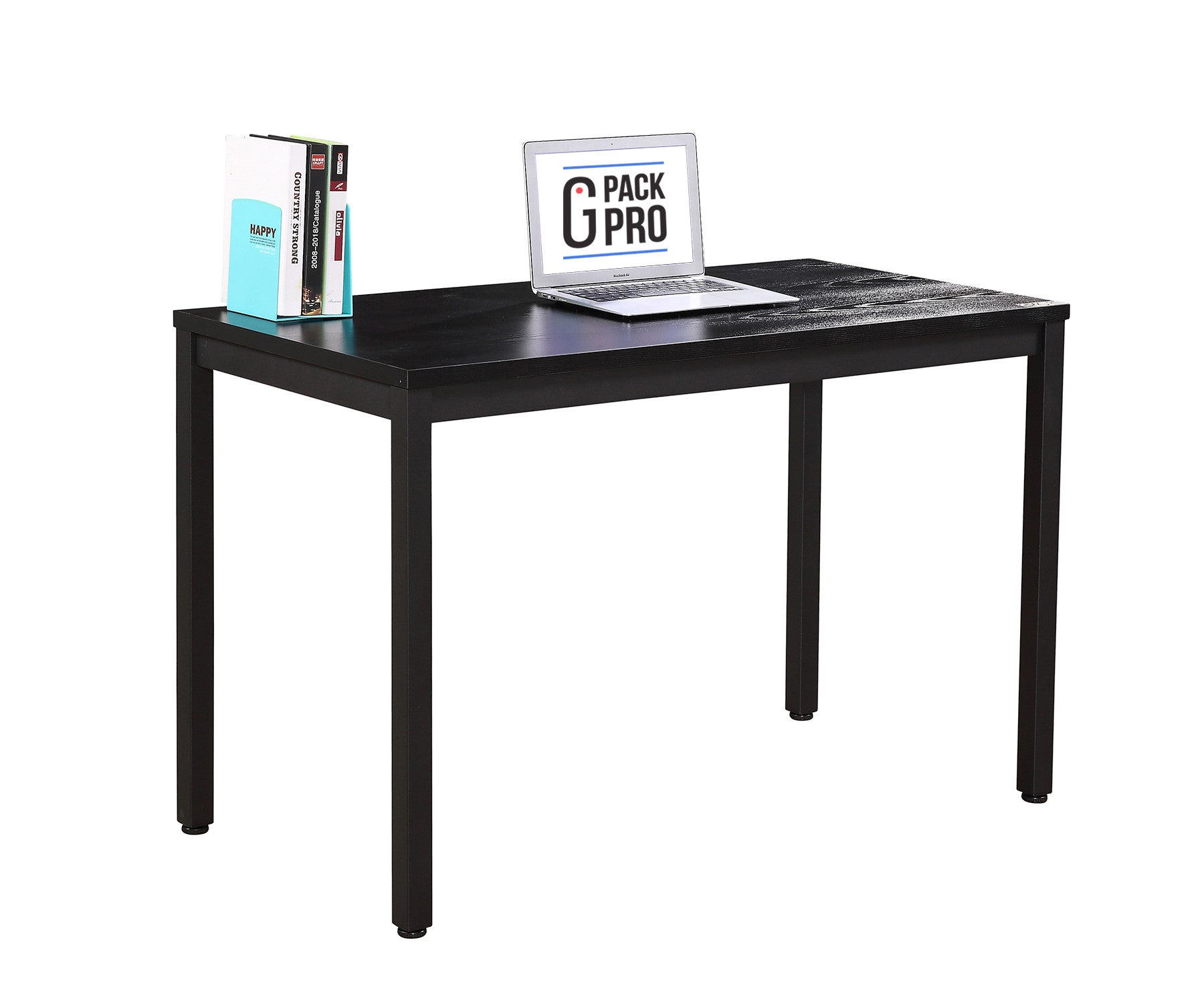 desk dp dining fineboard black with kitchen amazon white office drawers home com