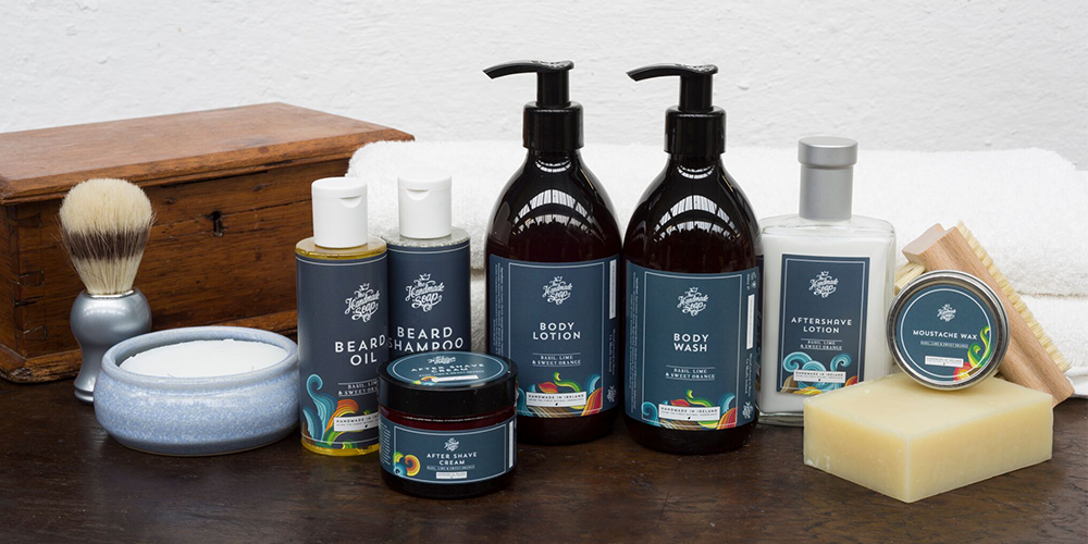 Our new and improved Men's Shaving and Body Range