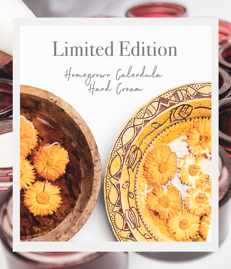 Limited Edition Homegrown Calendula Hand Cream