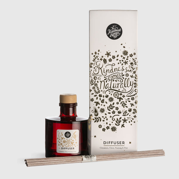 Winter Reed Diffuser - Cinnamon, Clove, Nutmeg & Pine | 200ml