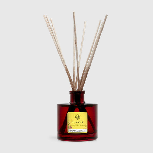 Reed Diffuser - Lemongrass & Cedarwood | 180ml