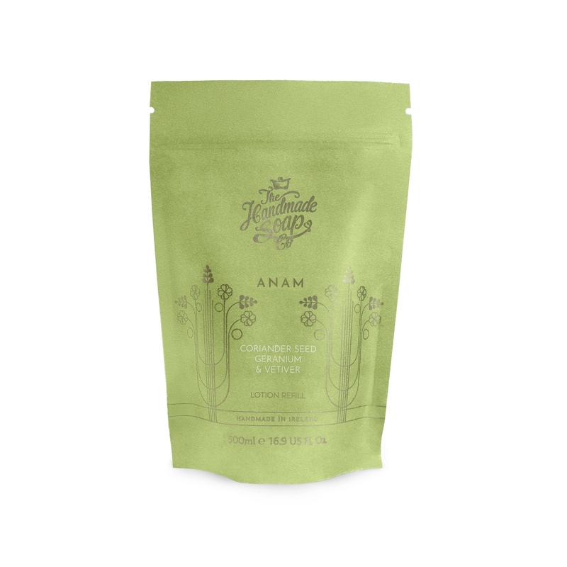 ANAM Lotion Refill - Coriander Seed, Geranium & Vetiver | 500ml