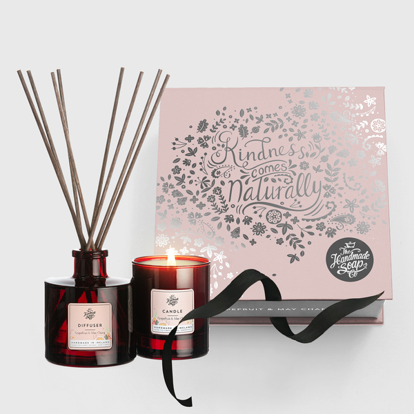 Candle & Diffuser Set - Grapefruit & May Chang