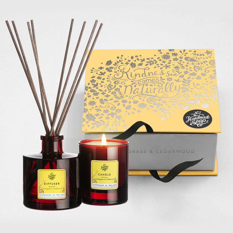 Candle & Diffuser Set - Lemongrass & Cedarwood