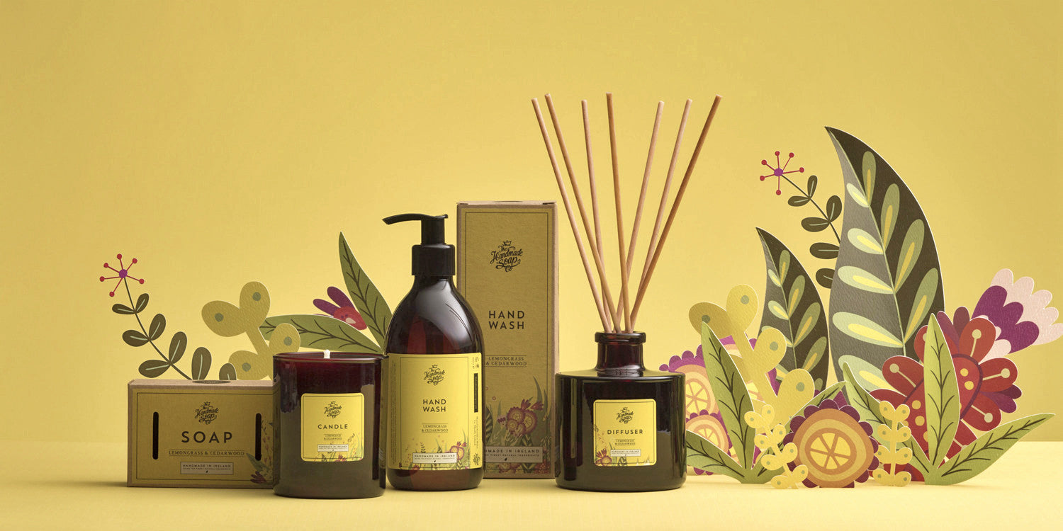Lemongrass and Cedarwood Range