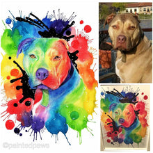 Load image into Gallery viewer, Rainbow Inspired Painted Paw