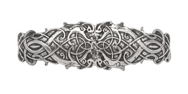 A BEAUTIFUL CELTIC HAIR BARETTE. BOTH STYLISH AND PRACTICAL.
