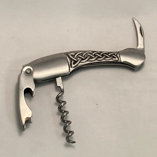 CELTIC KNOT CORKSCREW WINE KNIFE