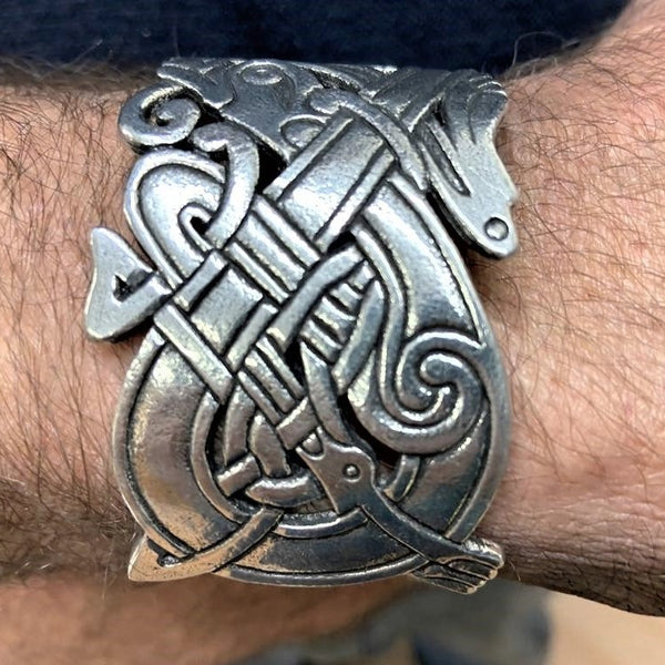 CELTIC MENS CUFF FROM BOOK OF KELLS