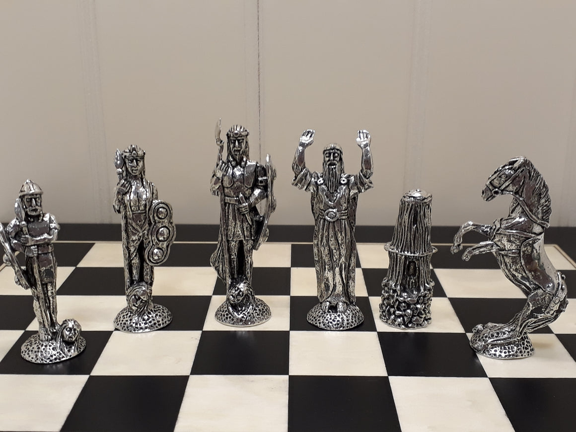 Mythical Chess Set with Board