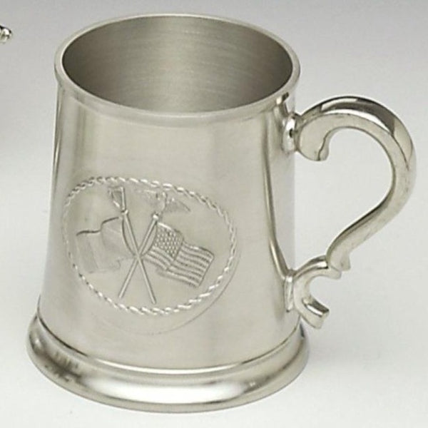 CROSS FLAG TANKARD