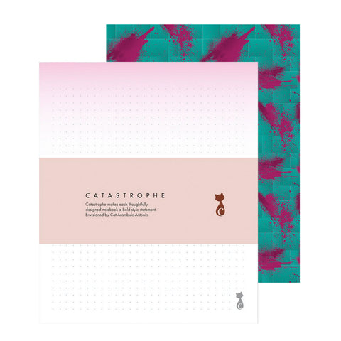 Tropical Disco Notepad