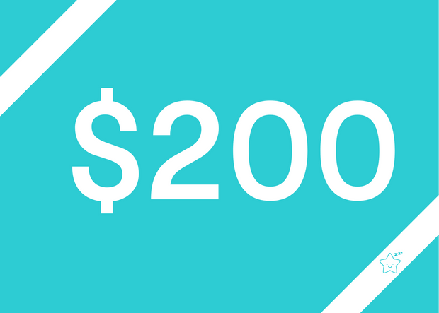 $200 Digital Gift Voucher