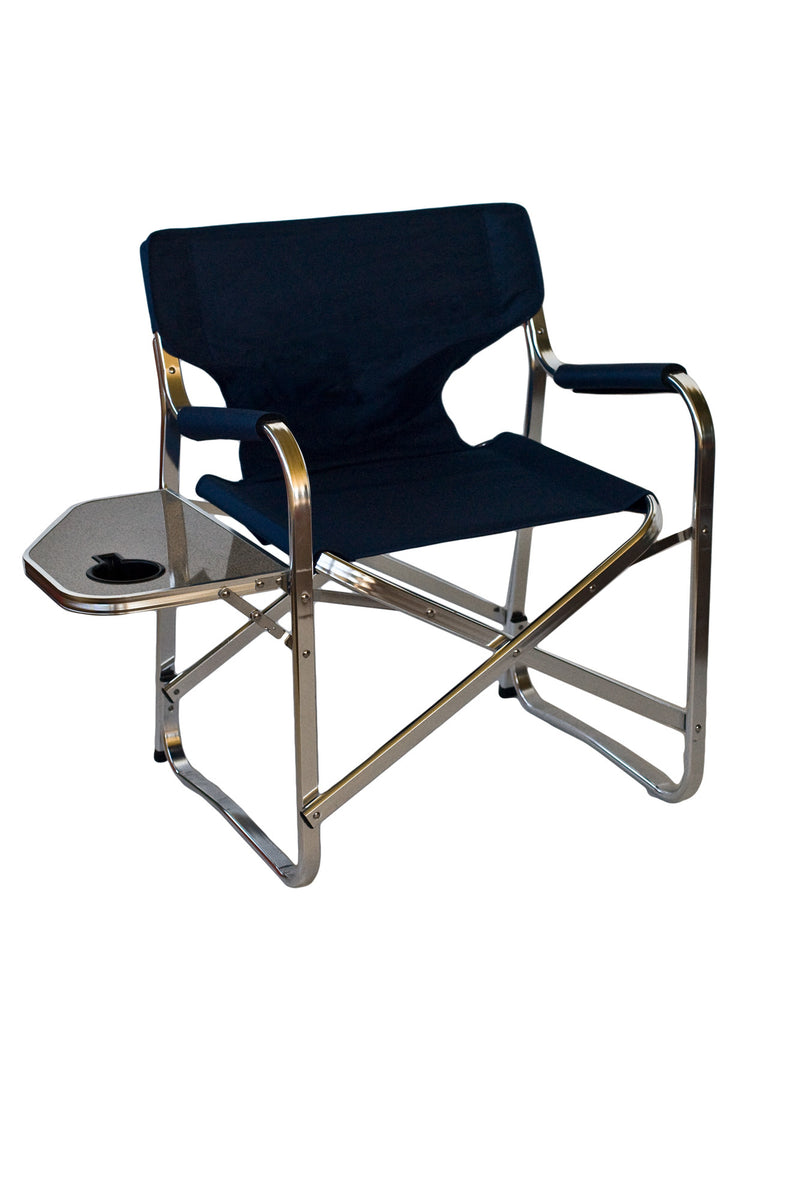 ALUMINIUM DIRECTORS CHAIR - All About Camping