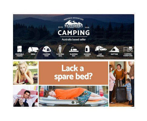 Double Self Inflating Swag Mattress 10cm - All About Camping