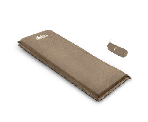 Single Self Inflating Mattress Swag Mat Joinable 10cm - All About Camping