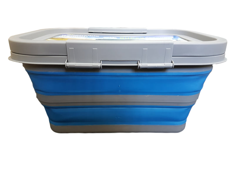 Collapsible Medium Tub with Lid - All About Camping