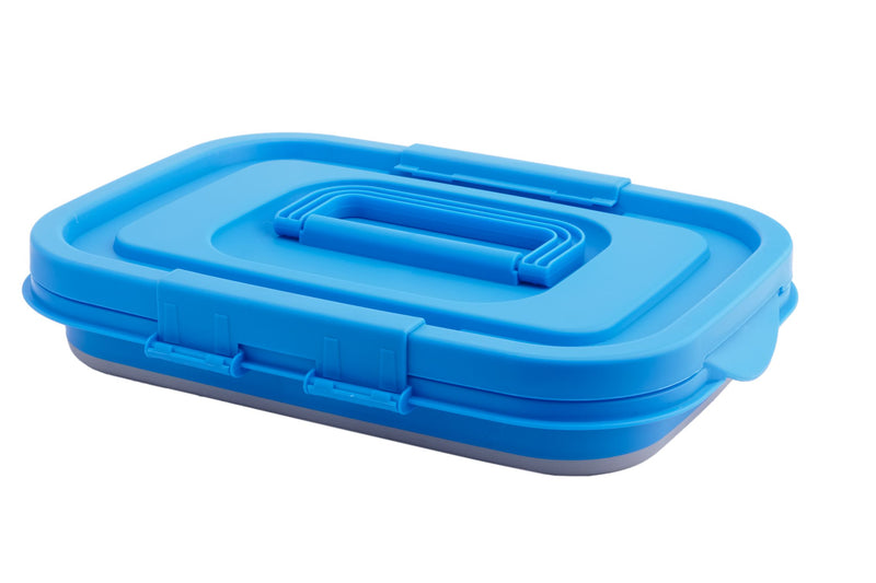 Collapsible Storage Tub with Handle - All About Camping