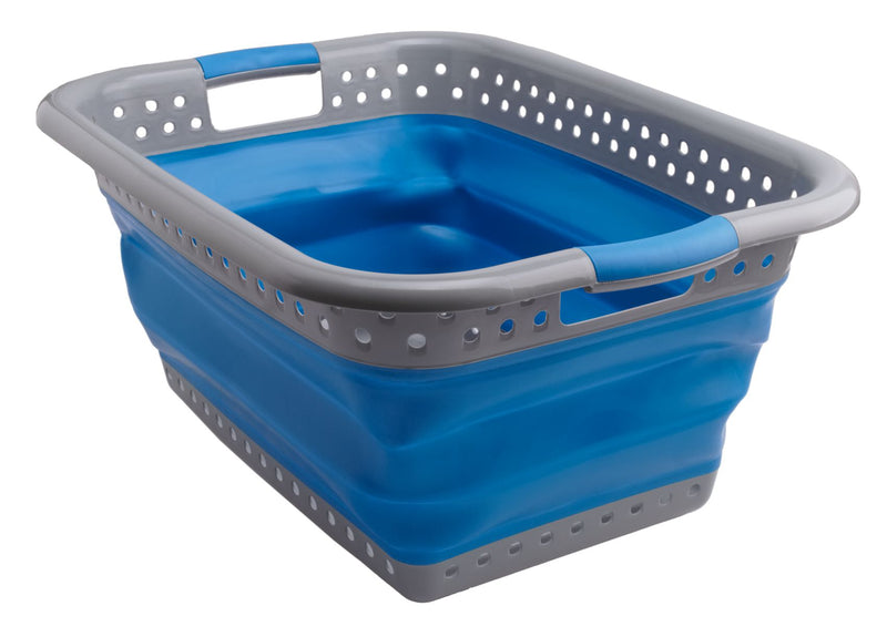 Large Family Collapsible Laundry Washing Basket - All About Camping