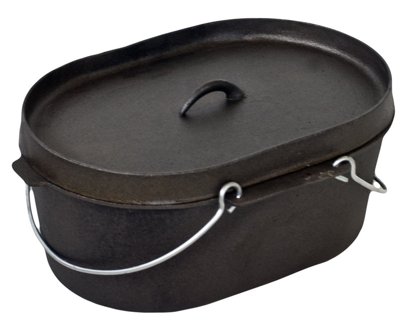 10 Quart Oval Dutch Oven - All About Camping
