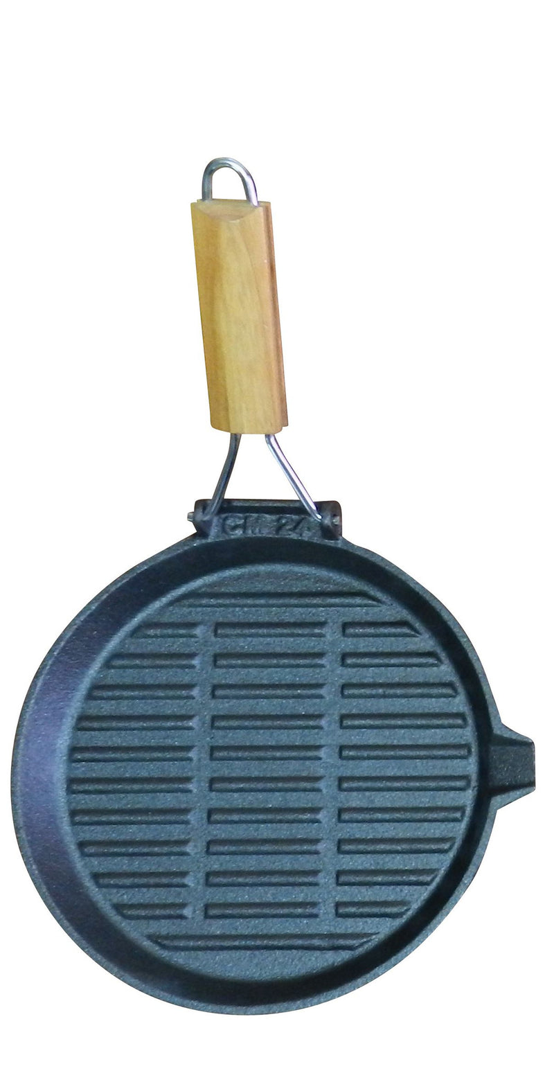 24cm Folding Handle Fry Pan - All About Camping
