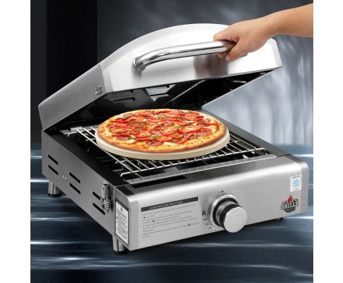 Portable Gas Pizza Oven - All About Camping