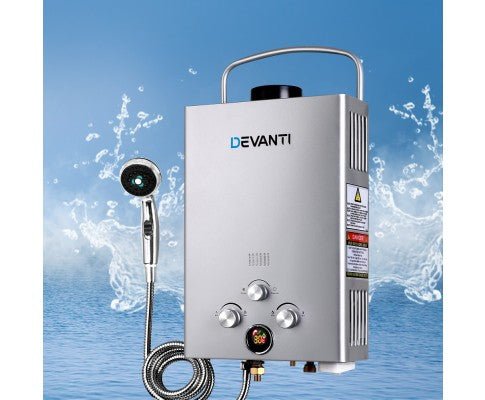 Outdoor Camping Gas Water Heater - All About Camping