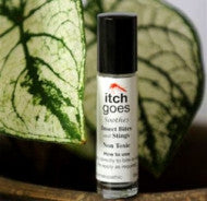 Itch Goes - Soothes Insect Bites & Stings Non Toxic 10ml Roll-on - All About Camping