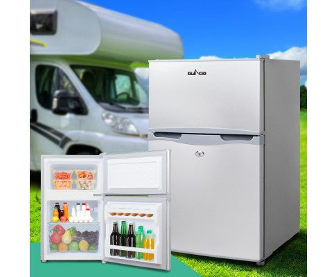 Glacio 65L Portable Bar Fridge Freezer Fridge Cooler 12V/24V/240V - All About Camping