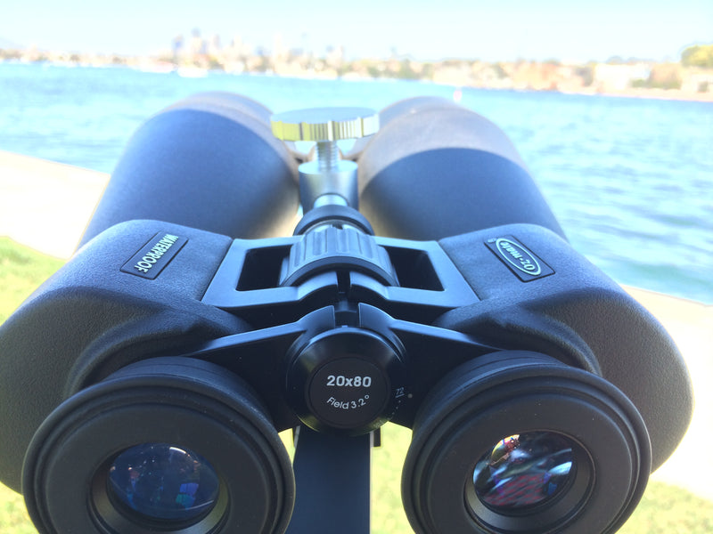Skipper Binoculars 20×80 Porro Waterproof S2080 - All About Camping