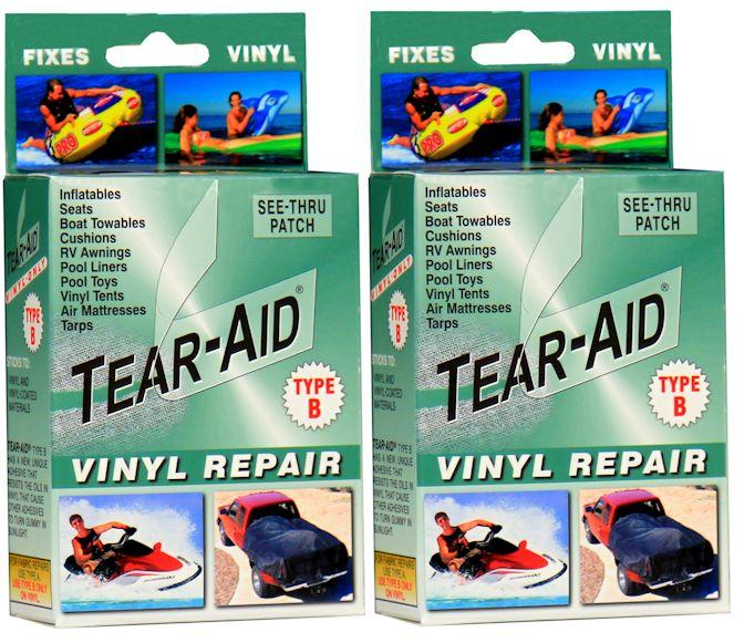 Tear Aid Type B Vinyl Repair - All About Camping