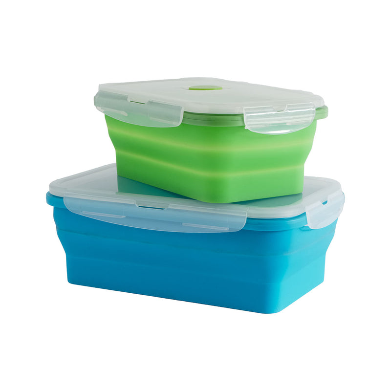 Collapsible Containers Set of 2 - All About Camping