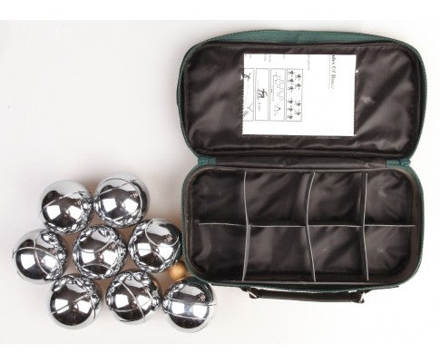 Deluxe Boules Bocce 8 Alloy Ball Set