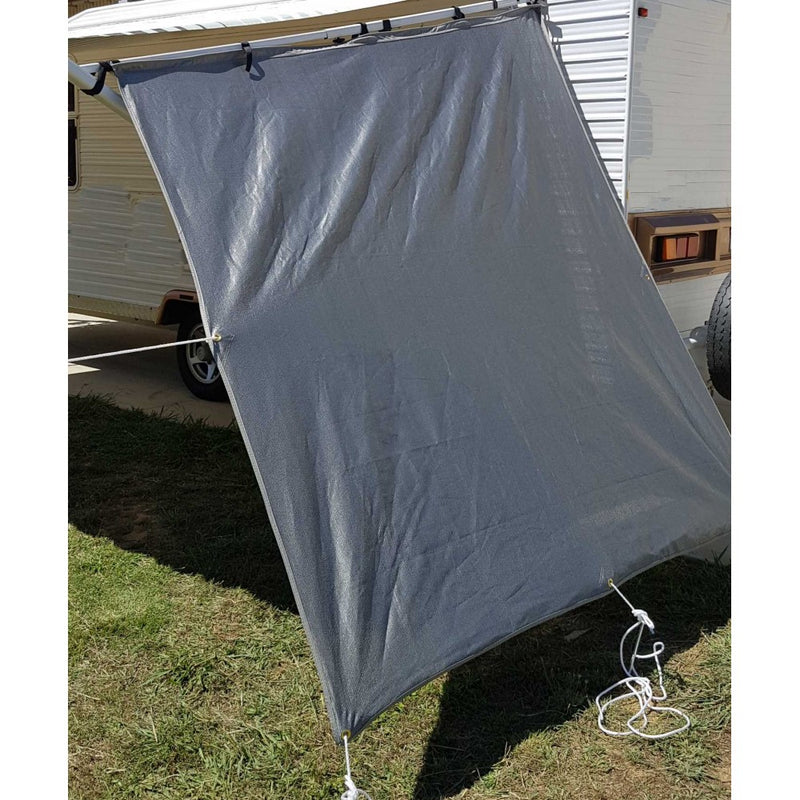 End Wall Privacy Screen For Caravan - All About Camping
