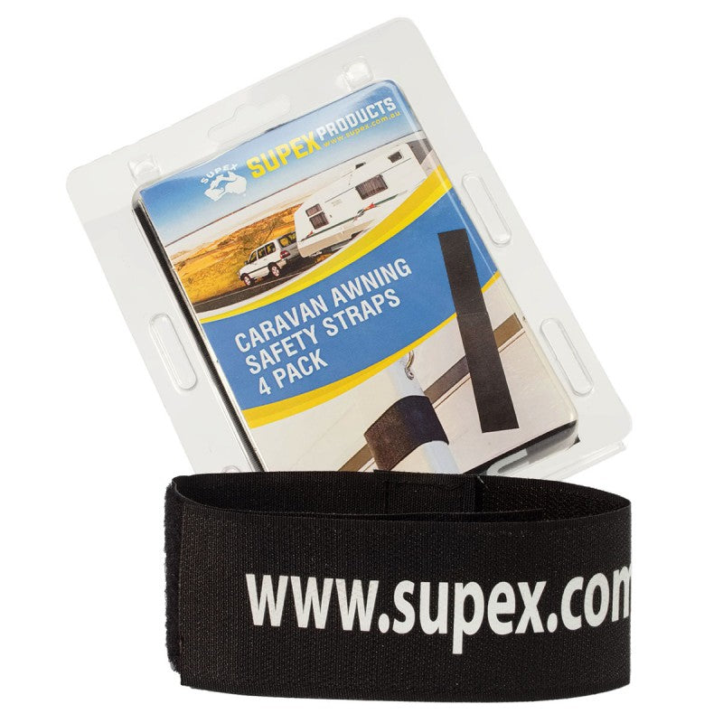 Supex Caravan Awning Safety Straps 4 Pack - All About Camping