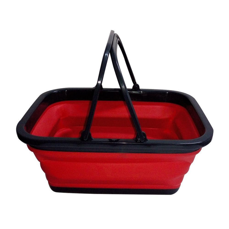 Collapsible Shopping Basket - All About Camping