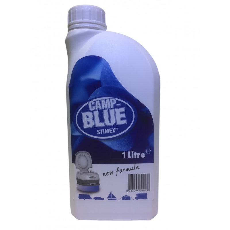 Stimex Camp Blue Waste Tank Liquid 1Ltr - All About Camping