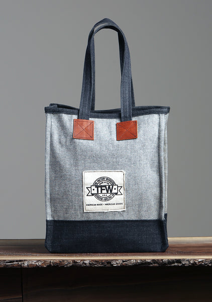 American-Made Denim Tote Bag