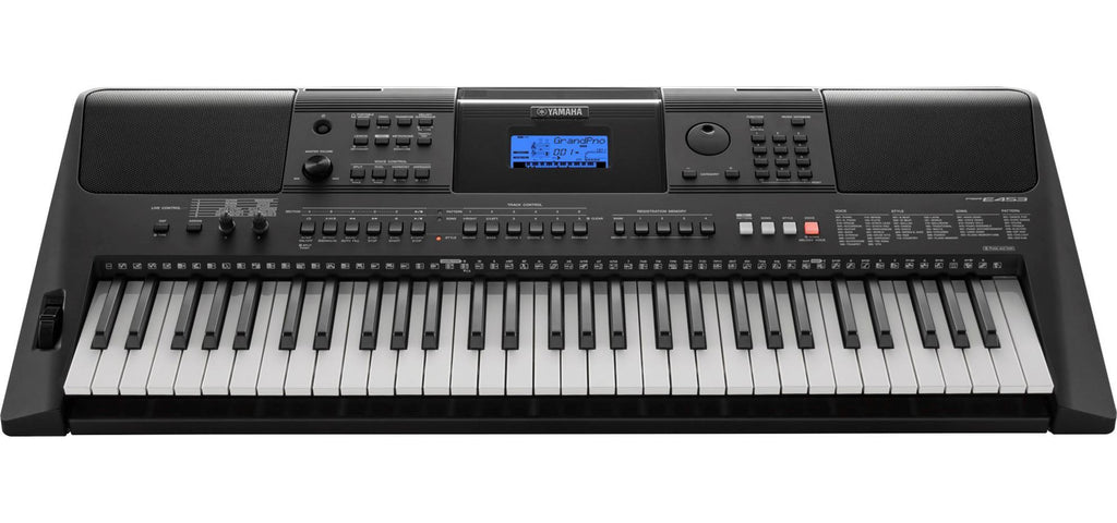 Yamaha Keyboard PSR-E453 with Adapter