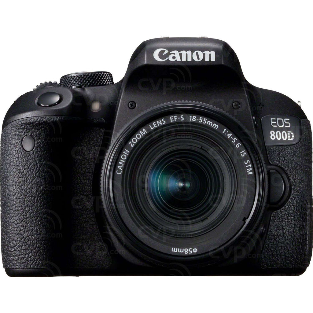 Canon EOS 800D Digital SLR Camera with 18-55 IS STM Lens Black