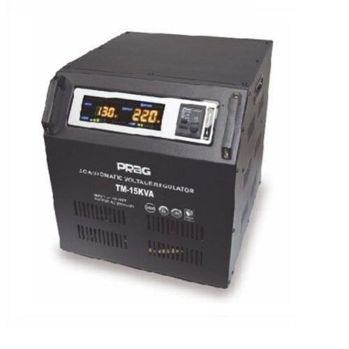 PRAG Relay Voltage Stabilizer 15KVA