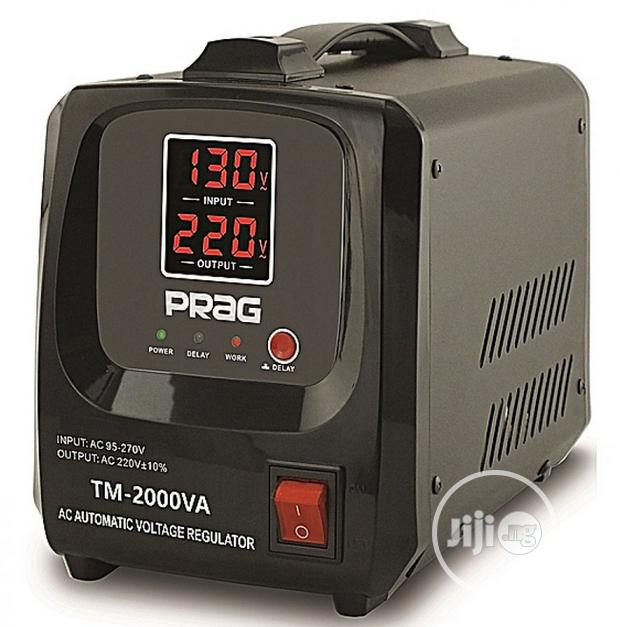 PRAG RELAY AUTOMATIC VOLTAGE STABILIZER 2000VA