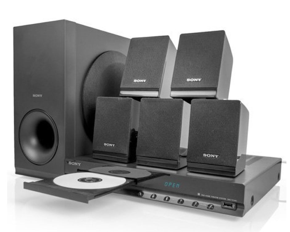 Sony DVD Home Theater System DAV TZ-140