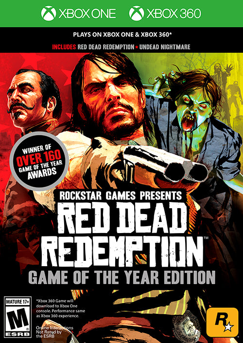 XBOX GAME RED DEAD REDEMPTION
