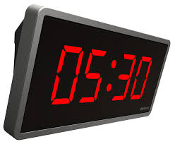 Digital Clock and Timer 4-Digits