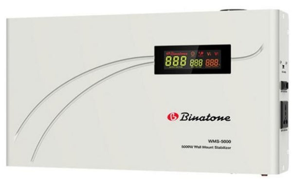 Binatone Automatic Voltage Stabilizer WMS-5000 Wall Mount