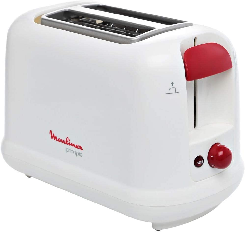 Moulinex 2 Slots Pop up Toaster Principio LT-160127