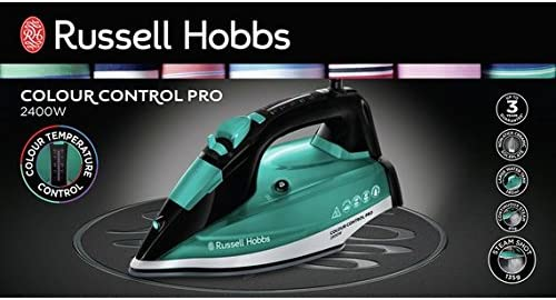 Russell Hobbs 2400 watts 22860 Colour Control Steam Iron
