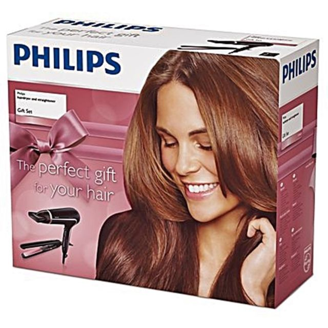 Philips Hair Dryer and Straightener HP8640/50 Gift Set